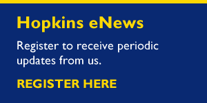 Hopkins eNews - Signup Here